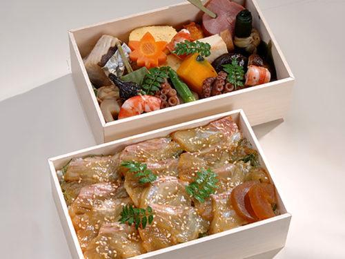 鮭漬二段弁当